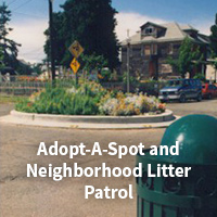 Adopt-A-Spot and Litter Patrol Webpage