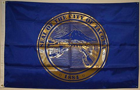 City of Tacoma Exterior Flag
