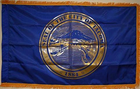 City of Tacoma Interior Flag