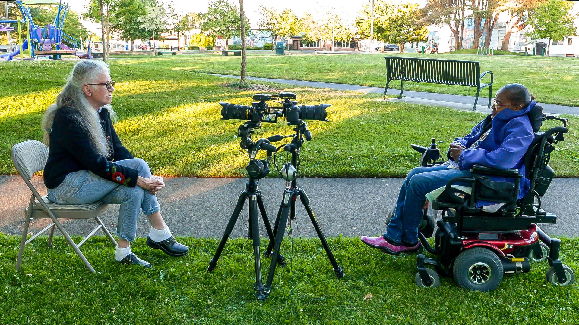 Photo of In Our Backyard interview