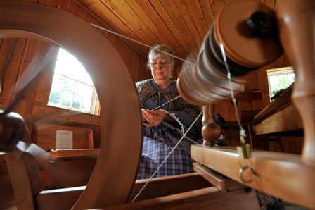Crafts of the Past at Fort Nisqually. Photo provided by Fort Nisqually Foundation