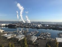 View of Port of Tacoma from Fireman's Park