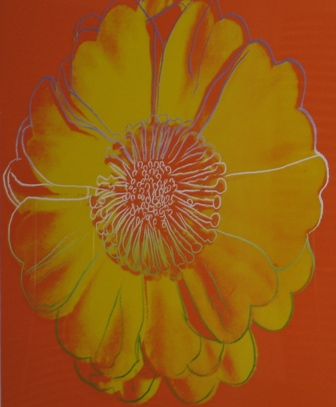 Andy Warhol, Flower for the Tacoma Dome