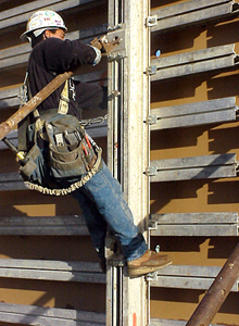 Image of an ironworker for the LEAP page