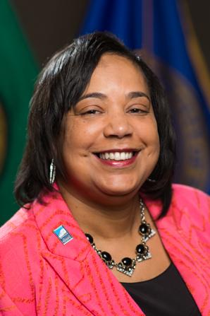 Councilmember Victoria Woodards