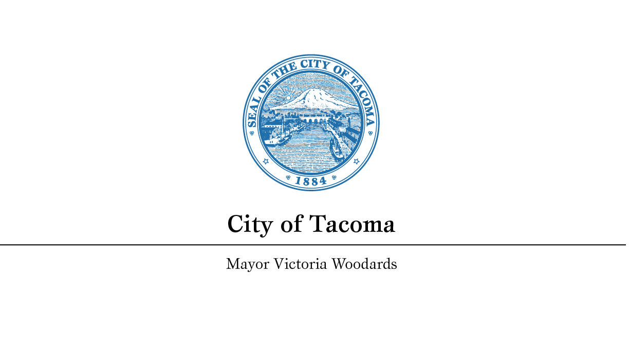 From the Office of Mayor Victoria Woodards