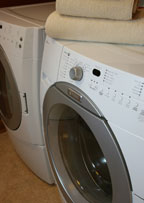 Energy-efficient washer and dryer