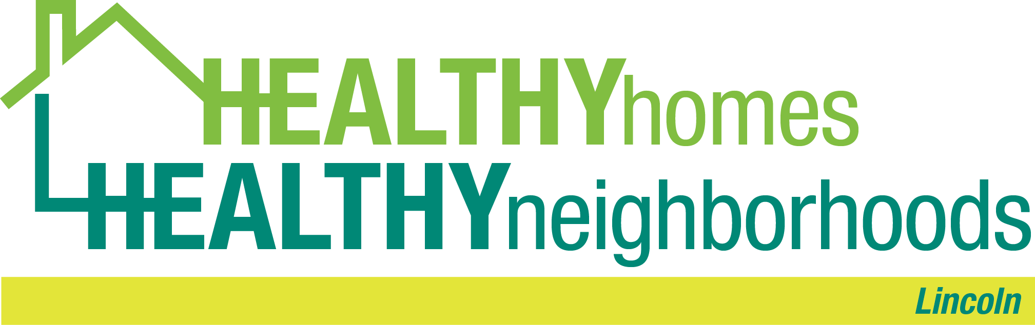 The Healthy Homes, Healthy Neighborhoods - Lincoln program logo