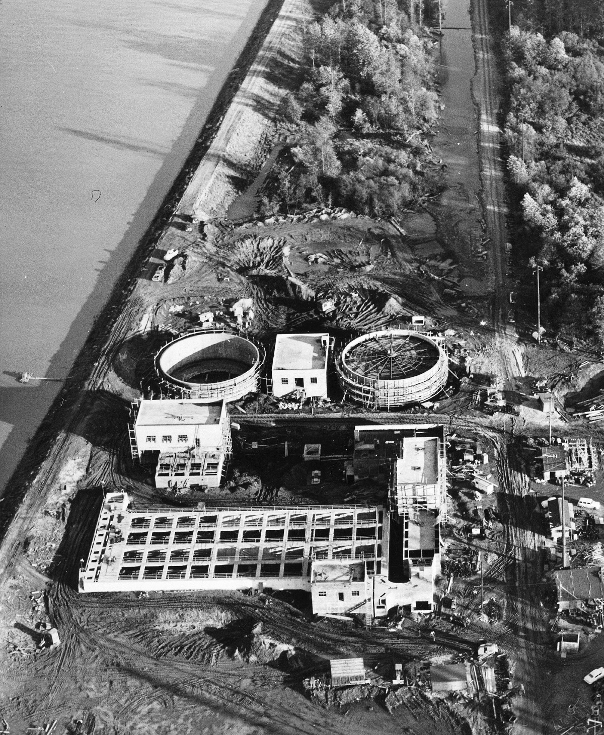 Central Wastewater Treatment Plant 1951