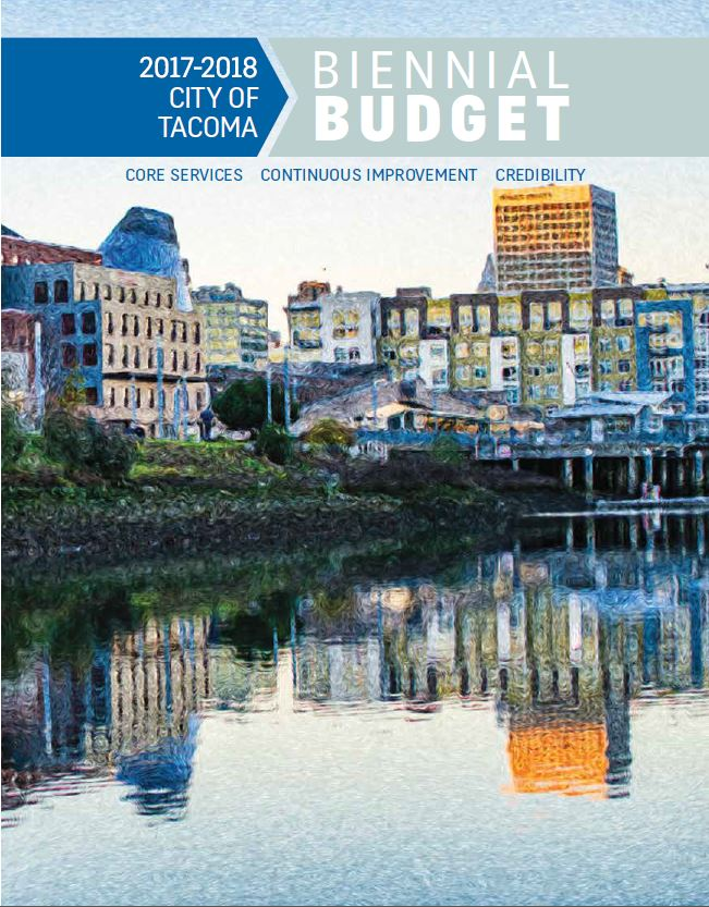 Cover of 2017-2018 Proposed Budget Book