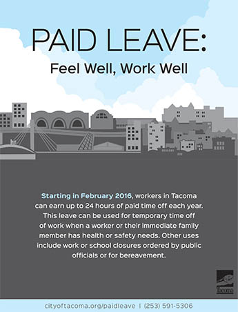 Image of the Paid Leave poster
