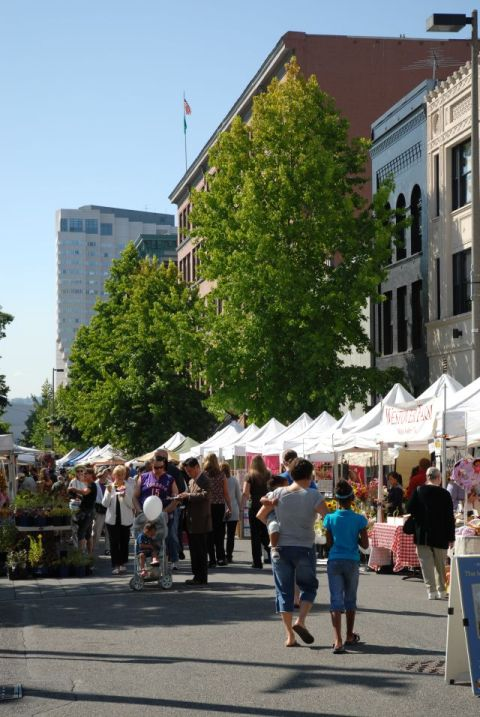 Image of the Tacoma Farmers Market