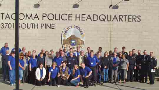 Tacoma Police Volunteers