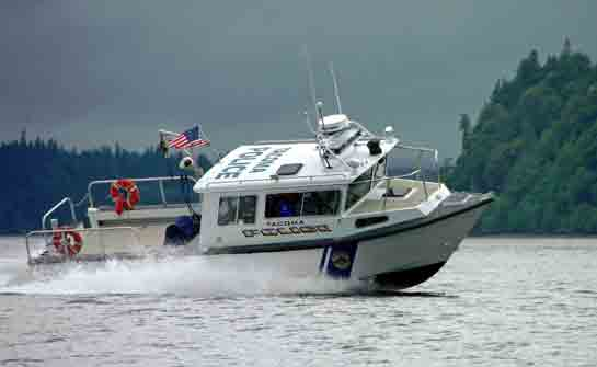 Image of boat for Marine Service Unit