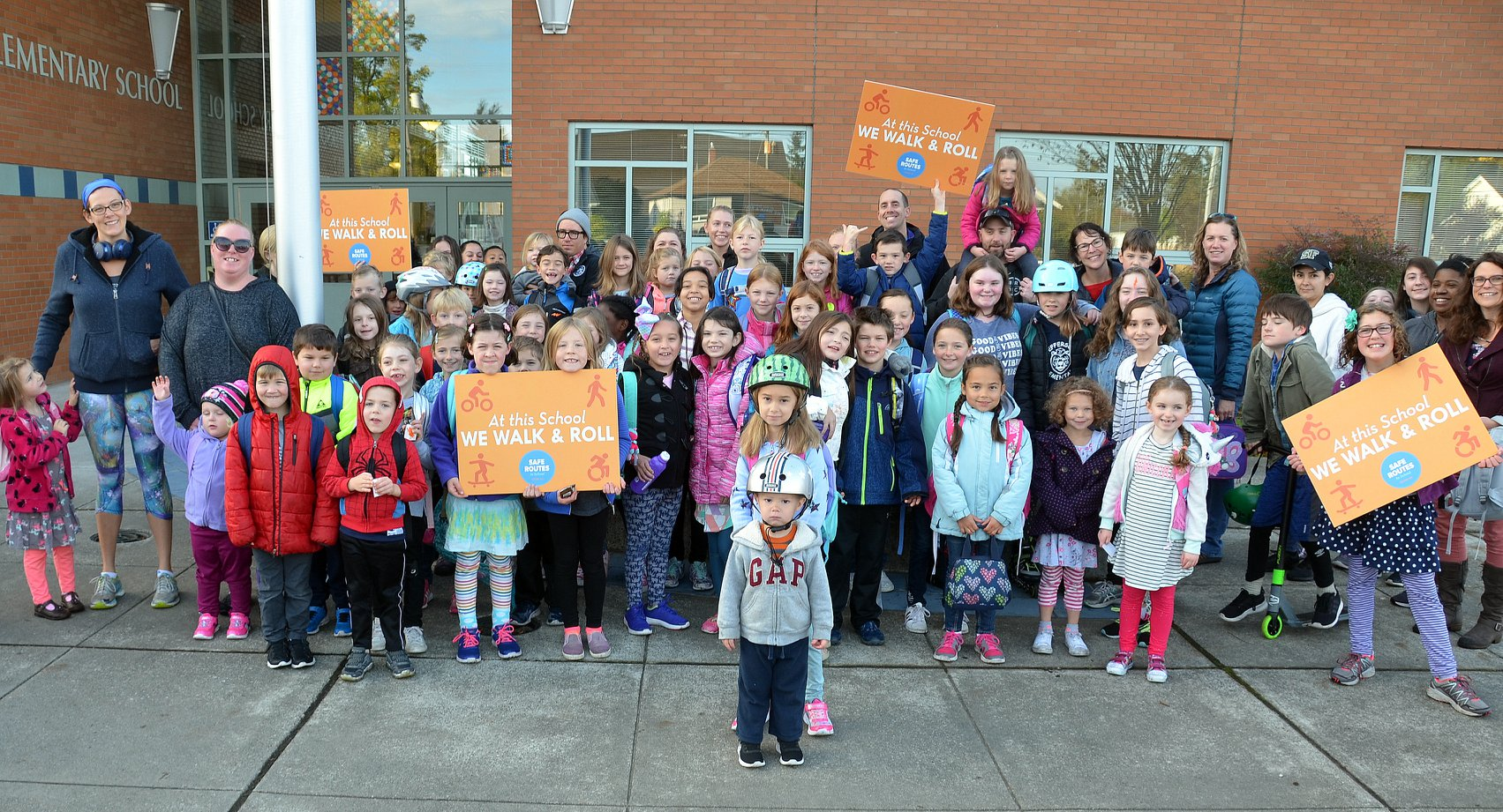 Walk to School Event